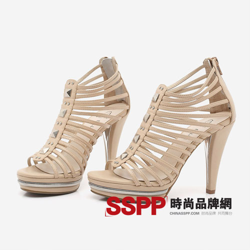 百丽 belle 2011春夏季新款凉鞋 百丽女鞋官网图片