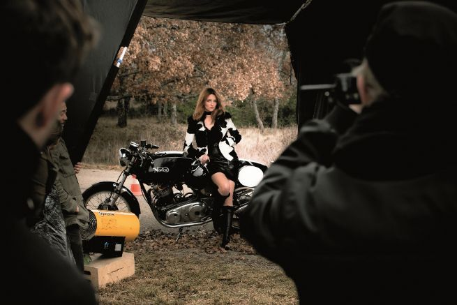 Audrey Marnay担任法国奢侈品牌Longchamp 2011秋冬代言人(图1)