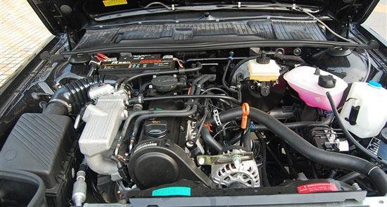 桑塔纳依然沿用1.8l自然吸气发动机,虽然排量达1.