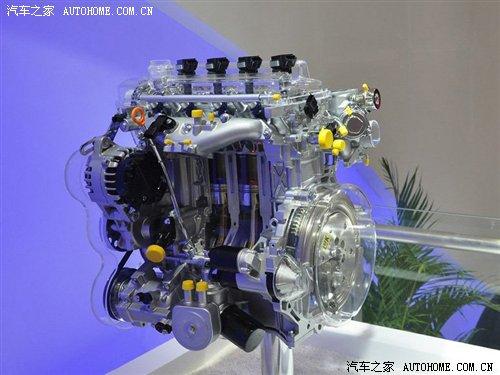 展出的长城1.5t发动机』