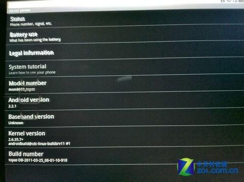 Pad平板运行Android系统