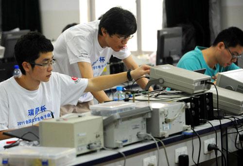 2011全国大学生电子设计竞赛开赛