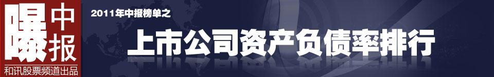 毛利率,2011年中报,榜单