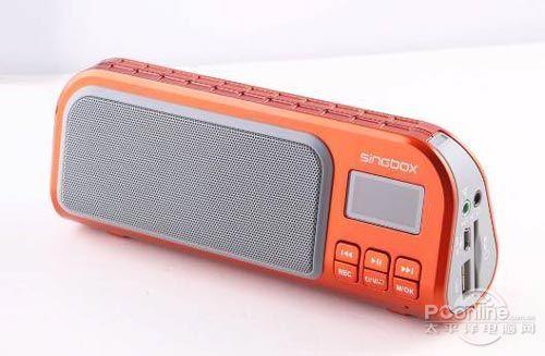圣宝sv-570口琴插卡数码便携音箱usb晨练u盘mp3播放器音箱; 圣宝sv-57