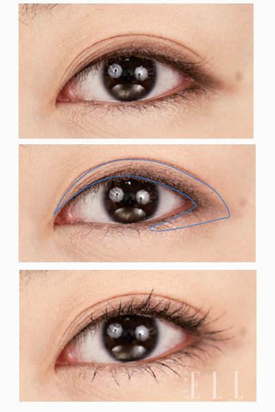 如何画淡眼影步骤图解