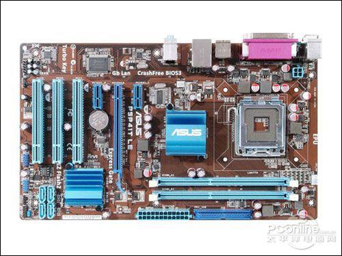 G41芯片主板低价抛 华硕P5P41T报520元图片