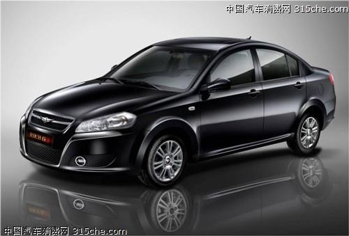 奇瑞瑞麒g3官方图片曝光 或售7 10万元高清图片