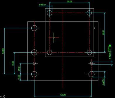 浩辰CAD图纸机械之升降机的坐标显示用不了教程天正立柱绘制打开图片