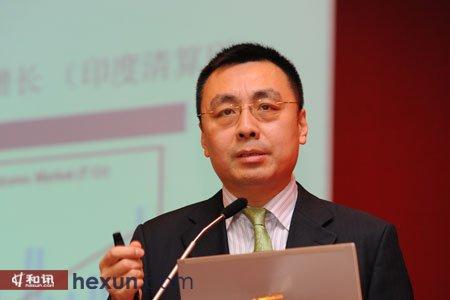 洲际交易所集团大中华区董事总经理黄杰夫