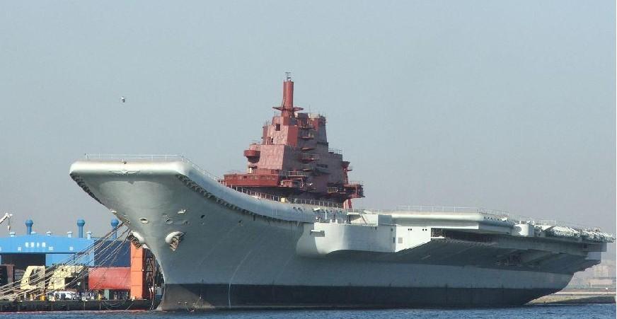 中国航空母舰 (1/12) 查看评论 查看原图 第一次回应:正在利用一艘