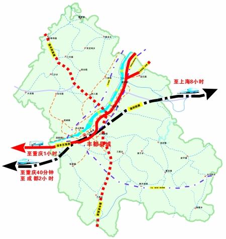 丰垫高速公路地图