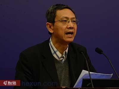 中国财政部财政学院研究所所长贾康