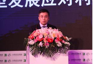 中国工商银行副行长谷澍在论坛上发言