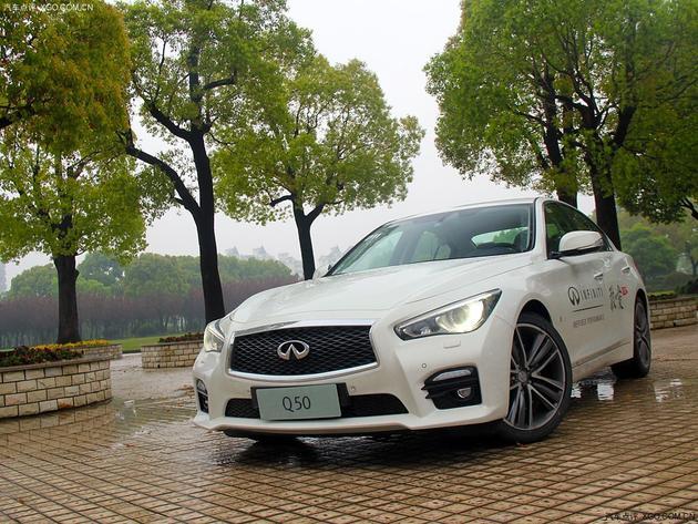 英菲尼迪q50车型高清图片