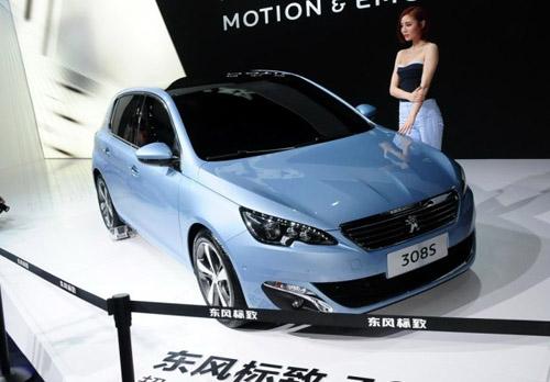 东风标致308两厢版将于2015年3月上市 基于海外标致全新308打造图片