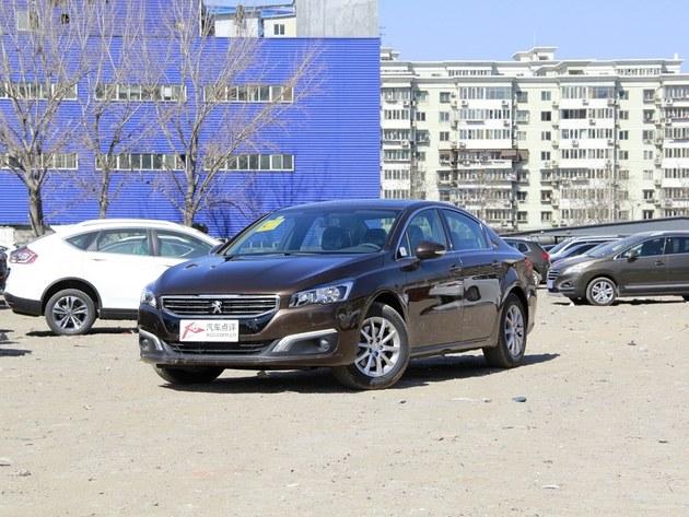 东风标致508的内饰设计看起来很不像一辆   法国   车,反而高清图片