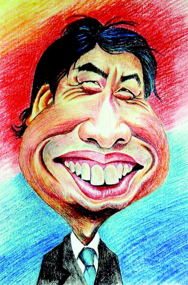 为历史小说《龙城记》手绘插图,刘伟的水墨漫画别出机杼:剪桐封弟