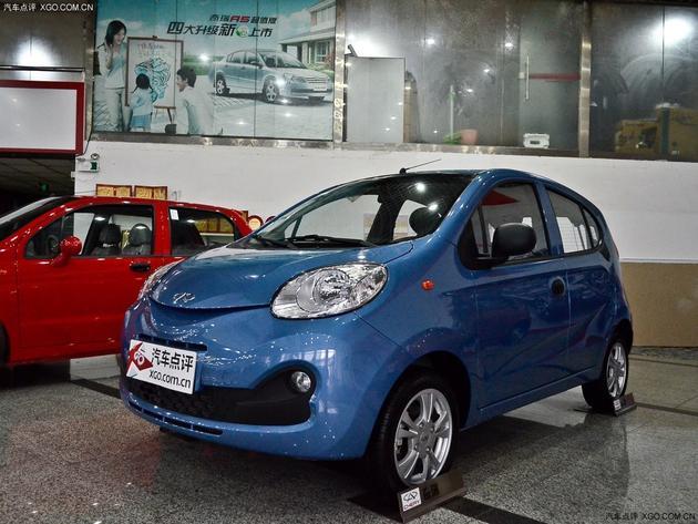 奇瑞QQ车型-奇瑞QQ购车优惠现金0.3万元 少量现车高清图片