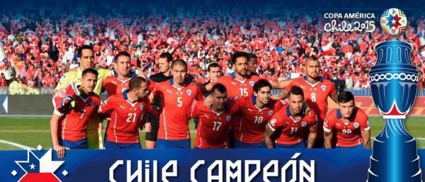 美洲杯百年历史,智利队终圆冠军梦.