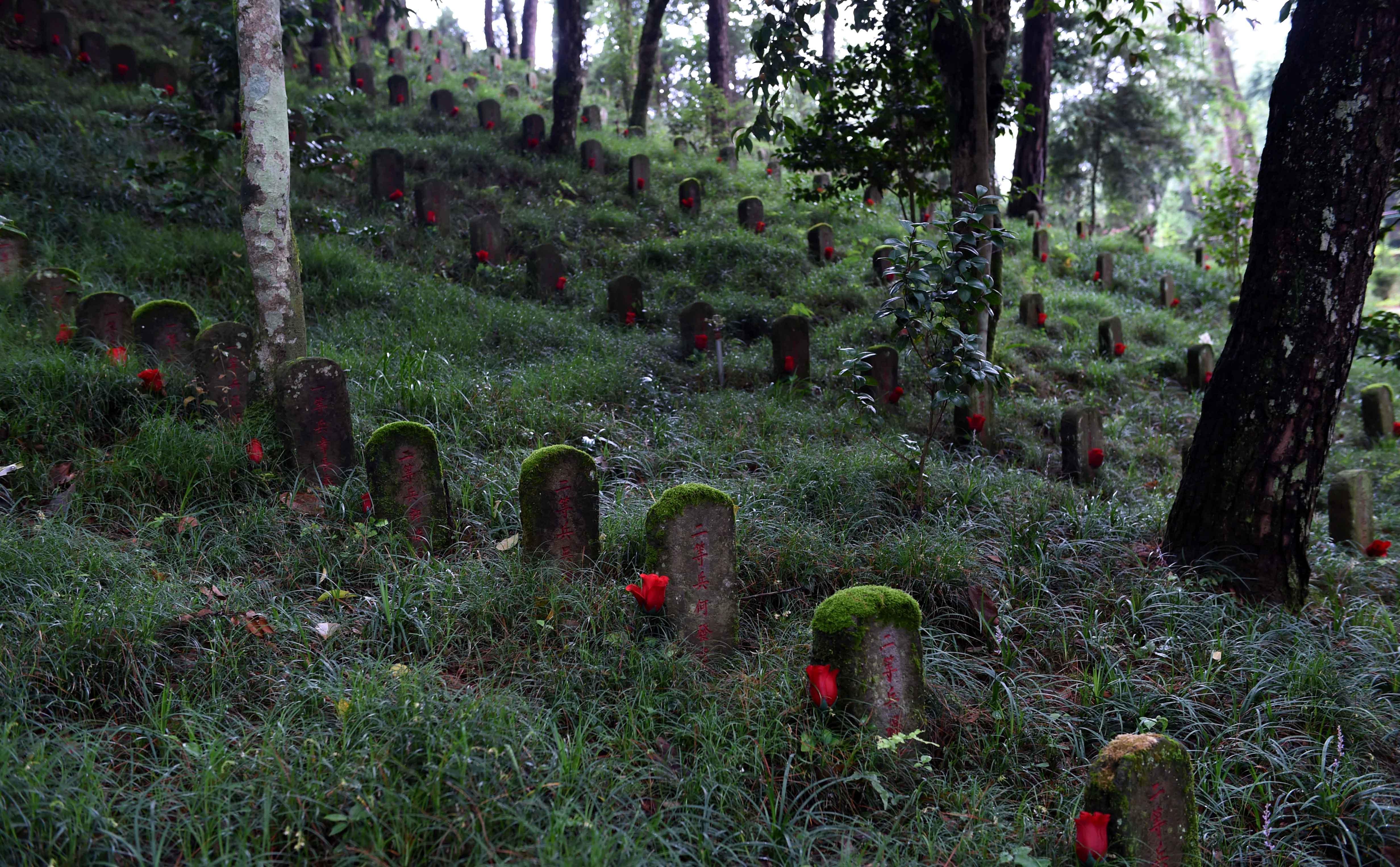 来凤山北麓,是为纪念抗日战争时期中国远征军攻克