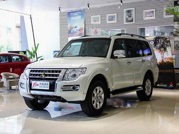 三菱进口帕杰罗最高降9万元 现车销售高清图片