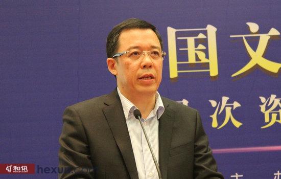 梅花与牡丹文化创意基金会监事长刘庆山