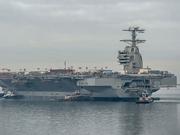 美国海军新一代航母拟本月服役