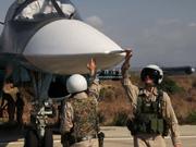 美俄战机在叙利亚上空差点打起来