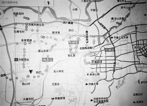 上顿单行道路地图